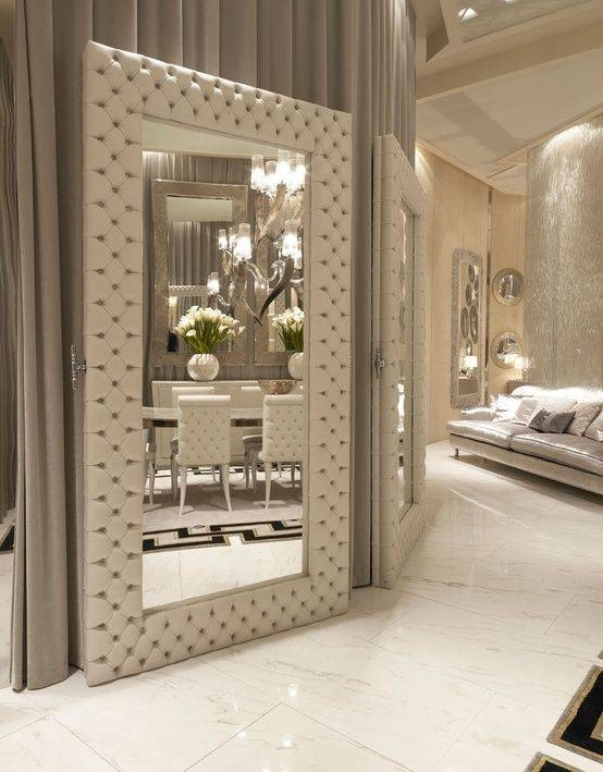 Best 25+ Big Wall Mirrors Ideas On Pinterest | Wall Mirror Ideas Regarding Elegant Wall Mirrors (View 1 of 15)
