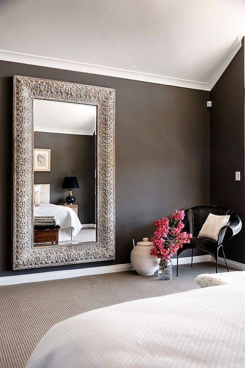 Popular Photo of Long Wall Mirrors For Bedroom
