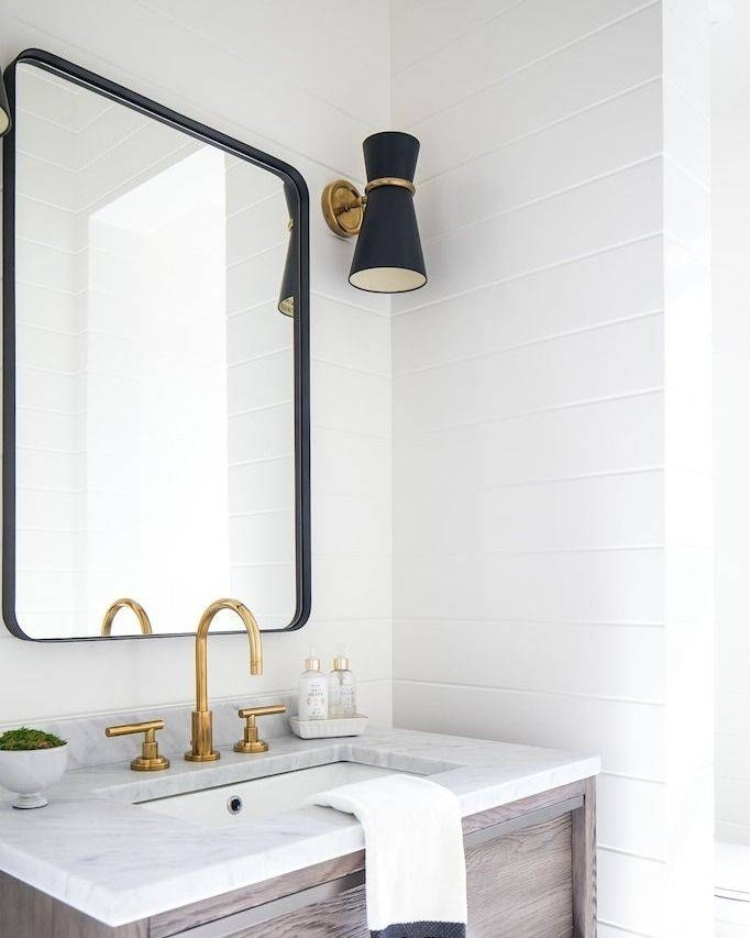 Best 25+ Black Bathroom Mirrors Ideas On Pinterest | Black With Modern Framed Mirrors (#4 of 15)