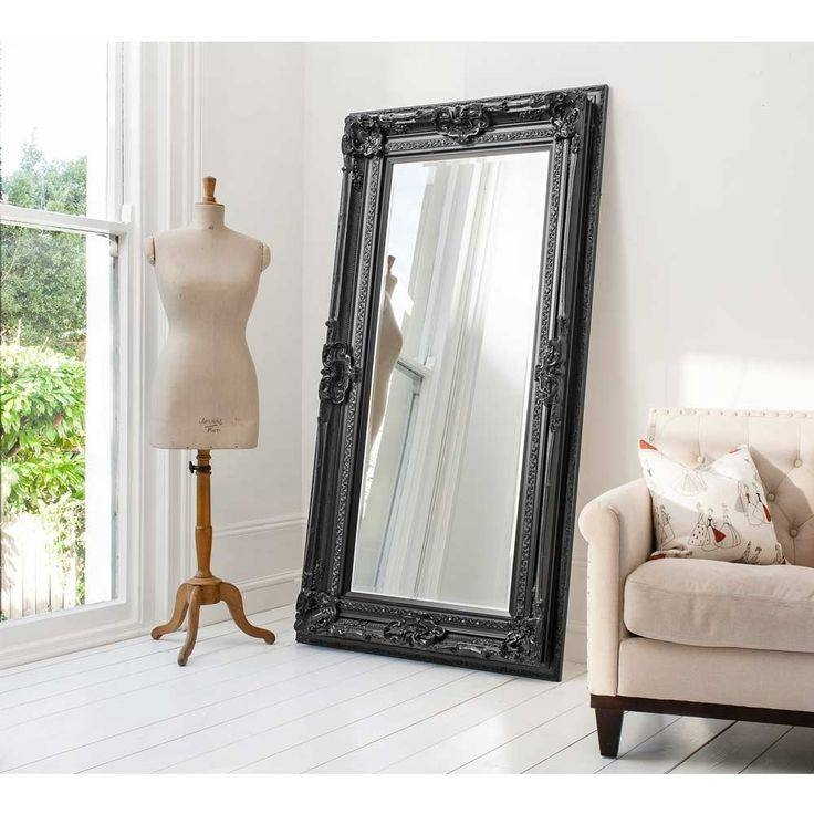 Best 25+ Black Wall Mirrors Ideas On Pinterest | Black White And Regarding Large Wood Wall Mirrors (#2 of 15)