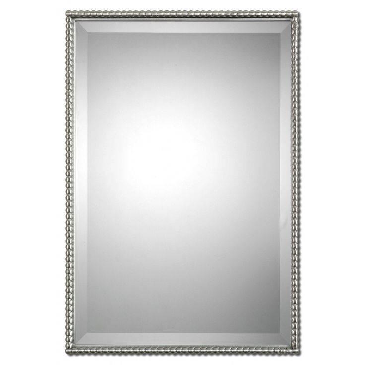 Best 25+ Brushed Nickel Mirror Ideas On Pinterest   Brushed Nickel For Brushed Nickel Wall Mirrors (View 3 of 15)