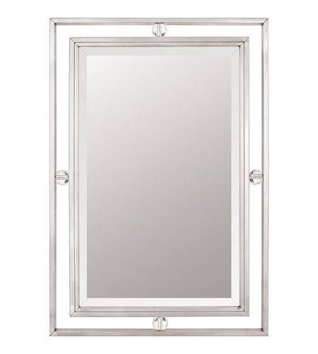 Best 25+ Brushed Nickel Mirror Ideas On Pinterest | Brushed Nickel With Regard To Brushed Nickel Wall Mirrors (#6 of 15)