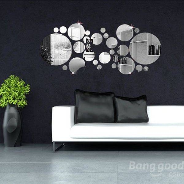 Best 25+ Circle Mirrors Ideas On Pinterest | Large Round Mirror Within Wall Mirror Stickers (#3 of 15)