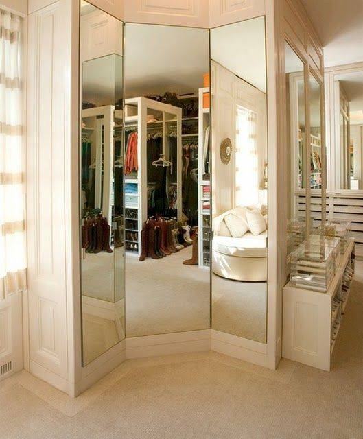 Best 25+ Closet Mirror Ideas On Pinterest | Walking Closet In Mirrors For Dressing Rooms (View 7 of 15)