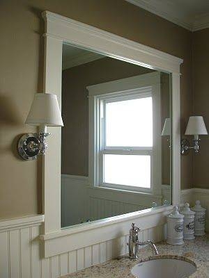 Best 25+ Craftsman Mirrors Ideas On Pinterest | Craftsman Bathroom For Framing Bathroom Wall Mirrors (#5 of 15)
