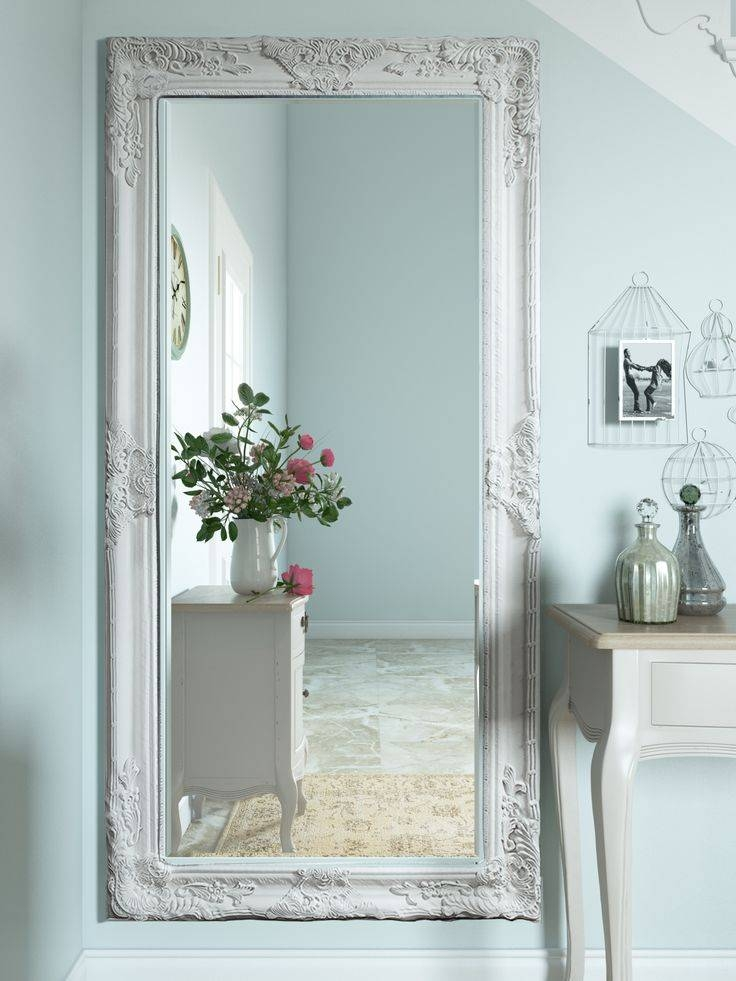 Best 25+ Cream Full Length Mirrors Ideas On Pinterest   Neutral In Full Length White Wall Mirrors (View 10 of 15)