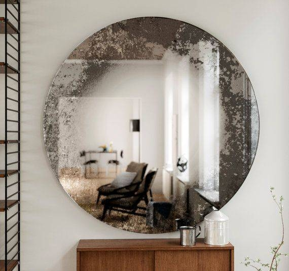 Best 25+ Distressed Mirror Ideas On Pinterest | Antiqued Mirror Pertaining To Large Vintage Wall Mirrors (#5 of 15)
