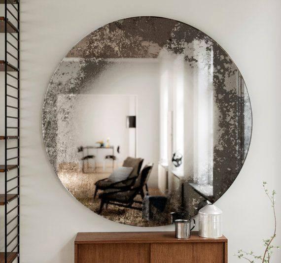 Best 25+ Distressed Mirror Ideas On Pinterest   Antiqued Mirror Regarding Distressed Wall Mirrors (#5 of 15)