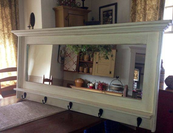 Best 25+ Entryway Mirror Ideas On Pinterest | Entryway Wall Decor Intended For Wall Mirrors With Hooks And Shelf (View 12 of 15)