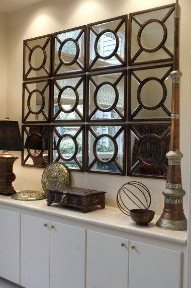 15 Ideas of Decorative Large Wall Mirrors