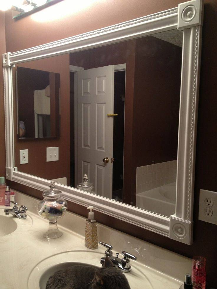 Best 25+ Frame Bathroom Mirrors Ideas On Pinterest | Framed With Frames Mirrors (#3 of 15)
