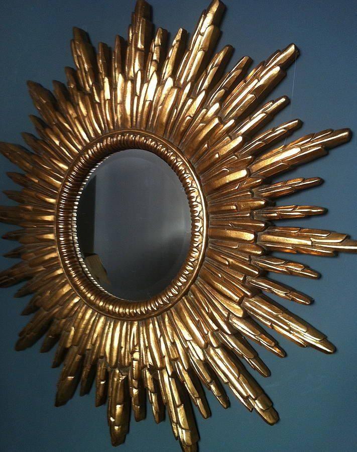 Best 25+ Gold Sunburst Mirror Ideas On Pinterest | Sun Mirror With Regard To Sun Wall Mirrors (#4 of 15)
