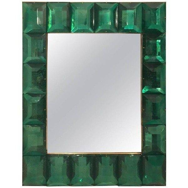 Best 25+ Green Framed Mirrors Ideas On Pinterest | Country Style In Green Wall Mirrors (View 3 of 15)