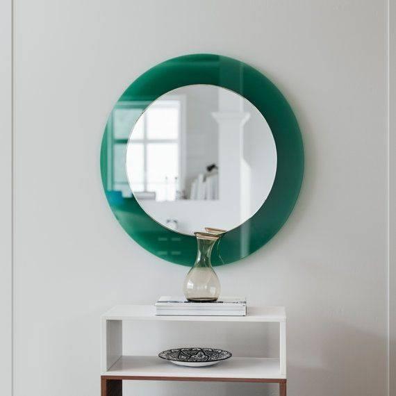 Best 25+ Green Wall Mirrors Ideas On Pinterest | Diy Interior Throughout Green Wall Mirrors (View 6 of 15)