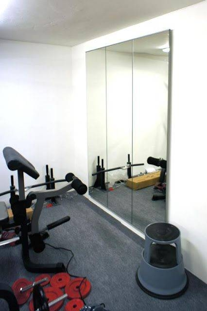 Best 25+ Gym Mirrors Ideas On Pinterest | Home Gym Mirrors With Gym Wall Mirrors (View 10 of 15)