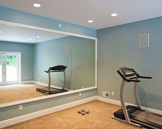 home gym decorating ideas with glass wall | 15 Ideas of Gym Full Wall Mirrors