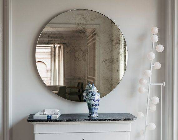 Best 25+ Handmade Frameless Mirrors Ideas On Pinterest | Interior Within Frameless Round Wall Mirrors (#8 of 15)