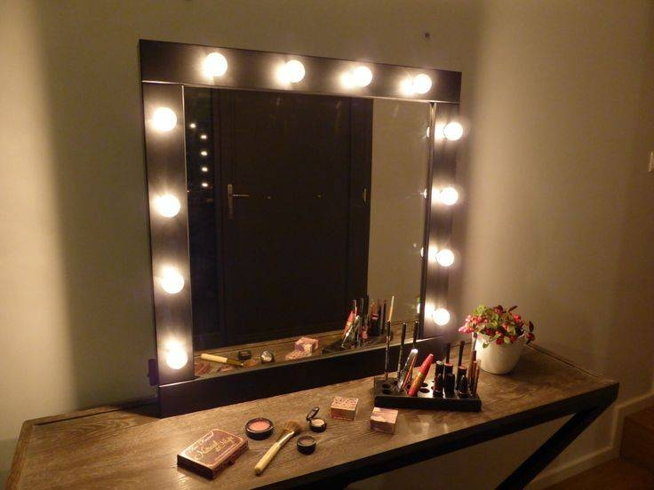 Best 25+ Hollywood Style Mirror Ideas On Pinterest | Mirror With Pertaining To Wall Mirrors With Light (#5 of 15)