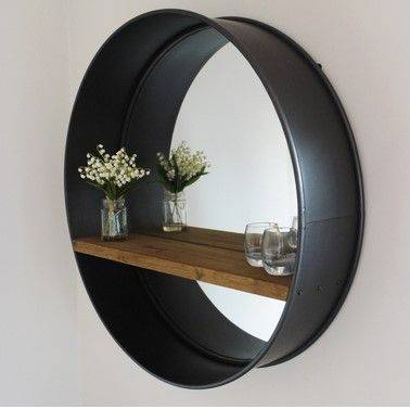 Best 25+ Industrial Mirrors Ideas On Pinterest | Industrial Regarding Industrial Wall Mirrors (#1 of 15)