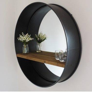Best 25+ Industrial Mirrors Ideas On Pinterest | Industrial Regarding Industrial Wall Mirrors (View 1 of 15)