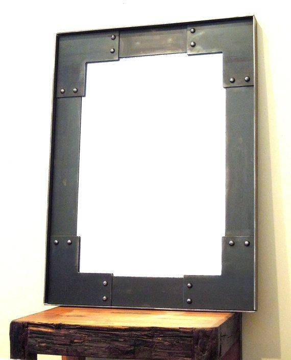 Best 25+ Industrial Wall Mirrors Ideas On Pinterest | Photo For Industrial Wall Mirrors (View 2 of 15)