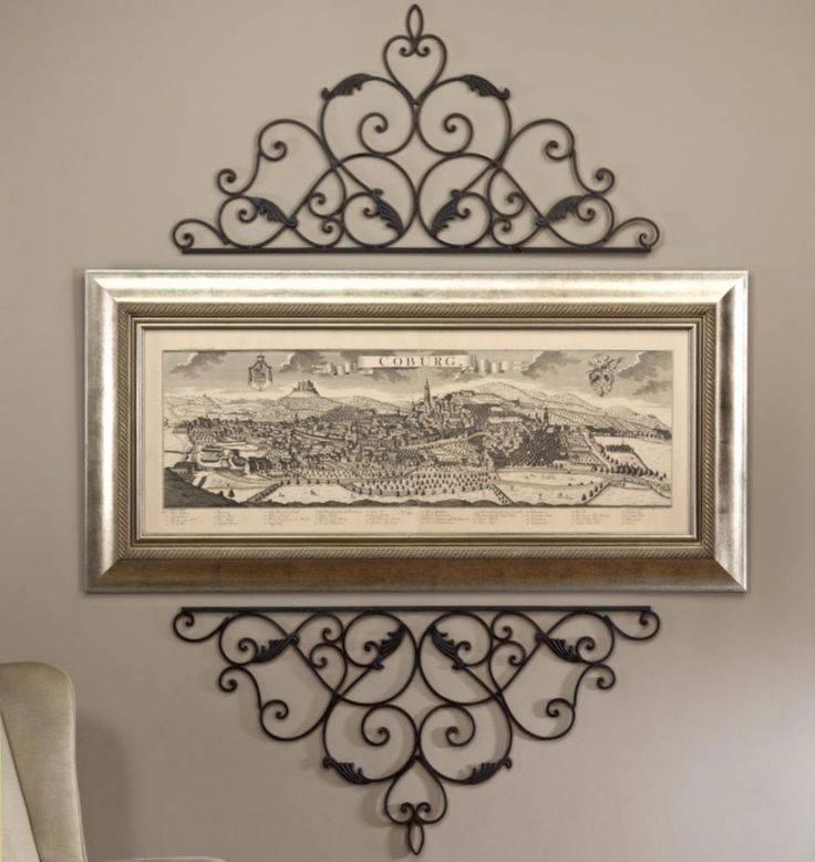 Best 25+ Iron Wall Decor Ideas On Pinterest | Wrought Iron Decor Inside Iron Wall Mirrors (#6 of 15)