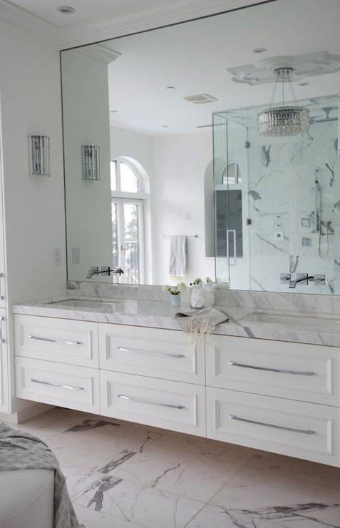 Best 25+ Large Bathroom Mirrors Ideas On Pinterest | Large Within Large Wall Mirrors For Bathroom (#6 of 15)