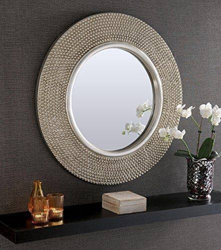 Best 25+ Large Round Wall Mirror Ideas On Pinterest | Large Intended For Gray Wall Mirrors (#5 of 15)