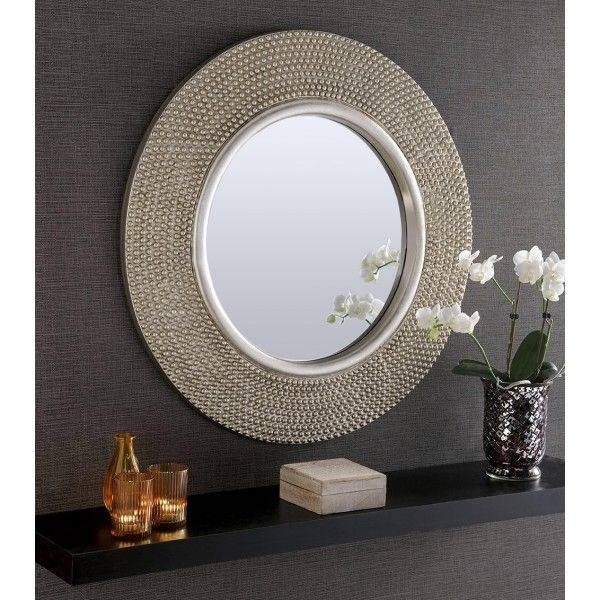 Best 25+ Large Round Wall Mirror Ideas On Pinterest | Large Regarding Large Silver Framed Wall Mirror (#5 of 15)