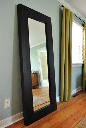 Best 25+ Large Standing Mirror Ideas On Pinterest | Floor Mirrors For Large Wood Wall Mirrors (#4 of 15)