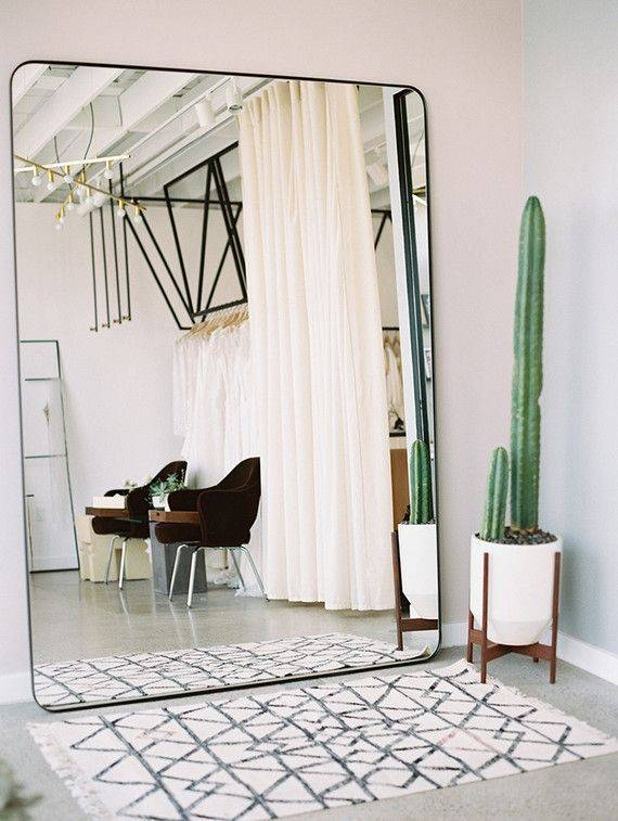Popular Photo of Giant Wall Mirrors