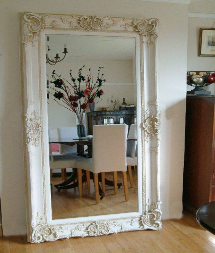 Popular Photo of Large Wall Mirrors With Frame