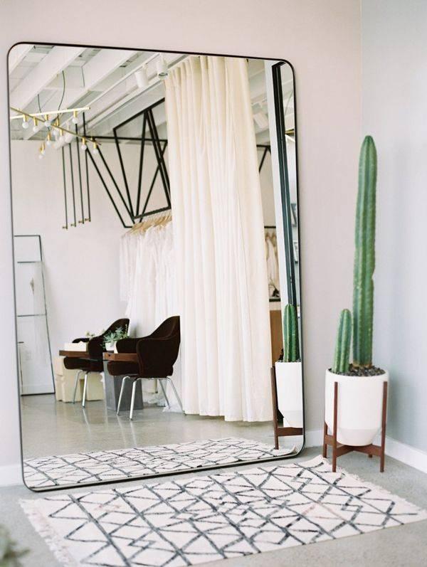 Popular Photo of Floor Wall Mirrors