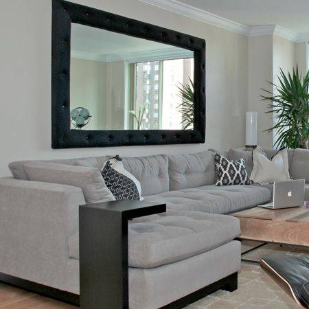 Best 25+ Living Room Mirrors Ideas On Pinterest | Chic Living Room Intended  For Large