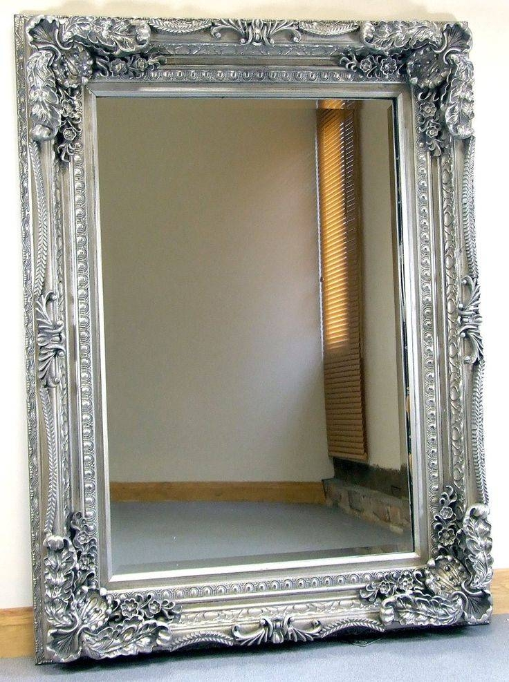 Best 25+ Mantle Mirror Ideas On Pinterest | Fire Place Decor In Large Silver Framed Wall Mirror (#6 of 15)