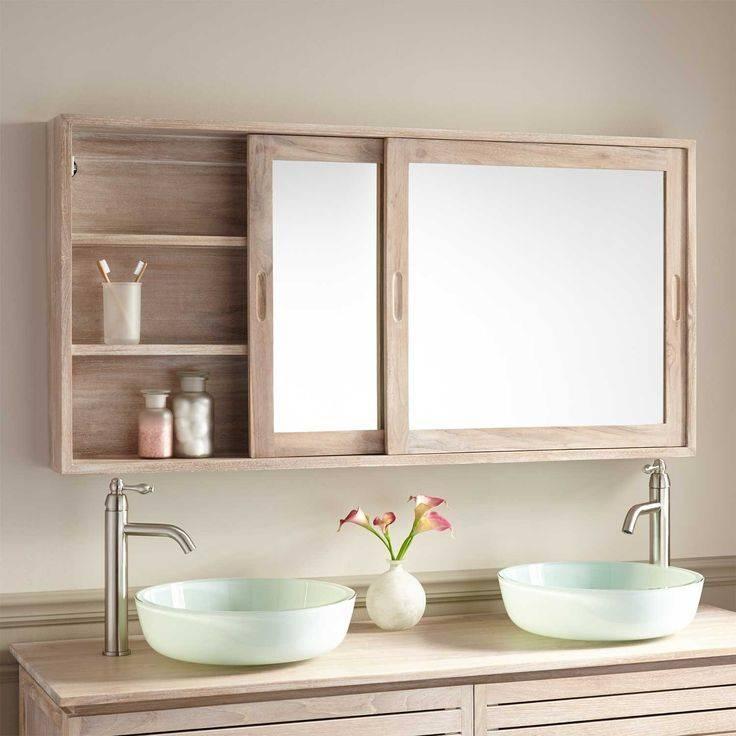 Best 25+ Medicine Cabinet Mirror Ideas On Pinterest | Medicine Throughout Bathroom Vanity Mirrors With Medicine Cabinet (#10 of 15)