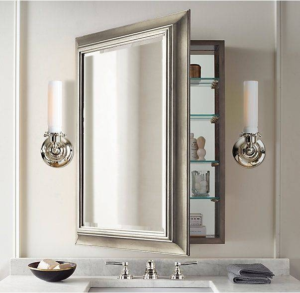 Popular Photo of Bathroom Medicine Cabinets With Mirrors
