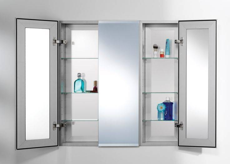Best 25+ Medicine Cabinets With Lights Ideas On Pinterest With 3 Door Medicine Cabinets With Mirrors (View 14 of 15)