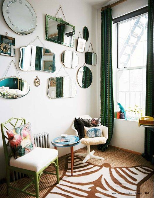 Popular Photo of Gallery Wall Mirrors