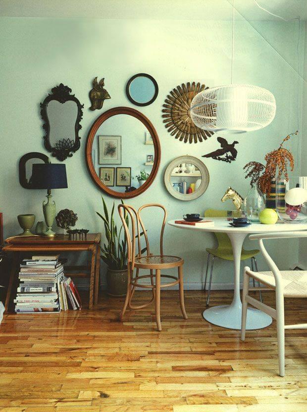 Best 25+ Mirror Gallery Wall Ideas On Pinterest | Mirror Walls Intended For Gallery Wall Mirrors (View 11 of 15)