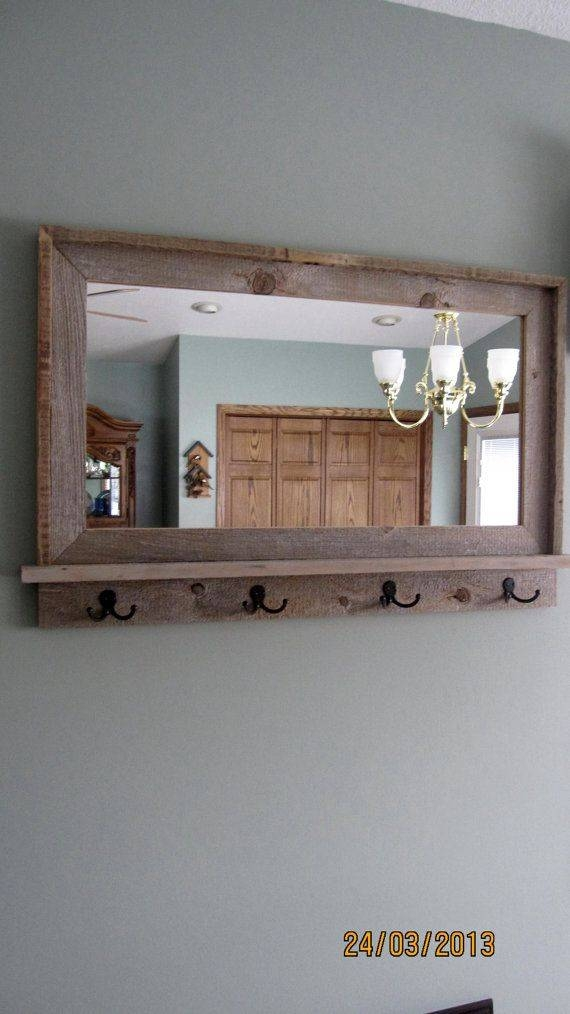 Best 25+ Mirror Hooks Ideas On Pinterest | King Size Bedroom Pertaining To Wall Mirror With Coat Hooks (#4 of 15)