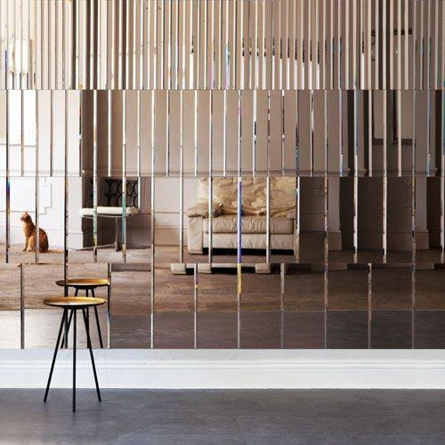 Popular Photo of Panel Wall Mirrors