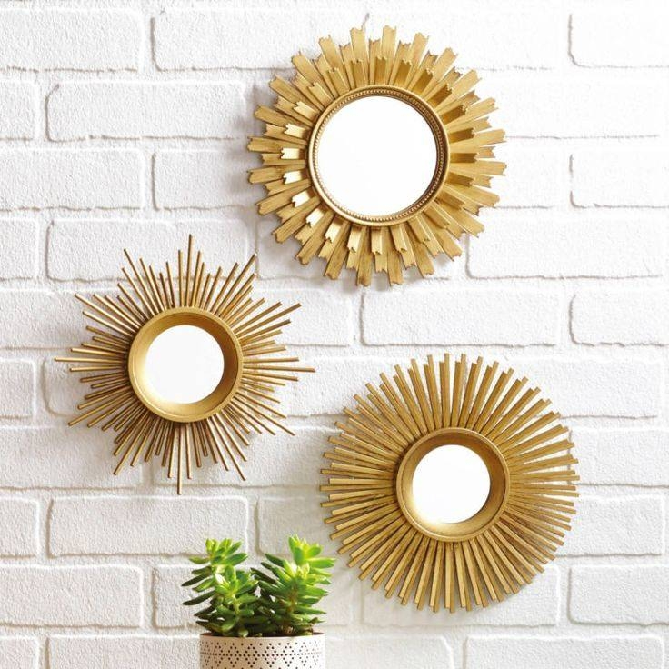 Best 25+ Mirror Sets Wall Decor Ideas On Pinterest | College Throughout Small Decorative Wall Mirrors (View 12 of 15)