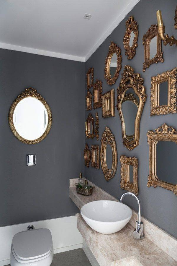 Best 25+ Mirror Wall Collage Ideas On Pinterest | Cottage Framed In Gray Wall Mirrors (#8 of 15)