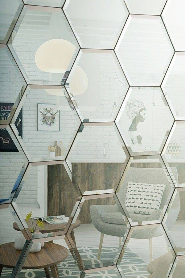 Inspiration About Best 25 Mirror Wall Tiles Ideas On In Small