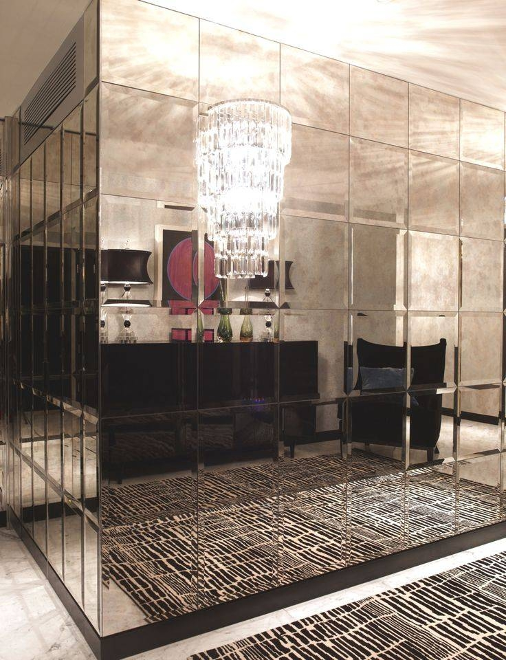Best 25+ Mirror Walls Ideas On Pinterest | Wall Mirror Design With Regard To Mirrored Wall Mirrors (View 5 of 15)