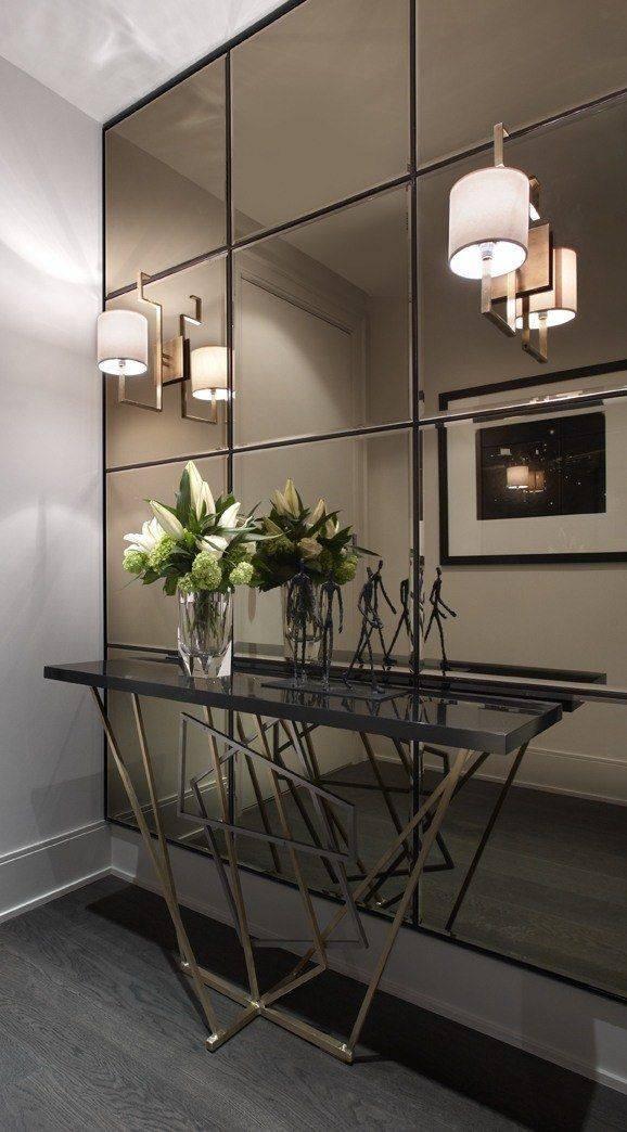 Popular Photo of Mirrored Wall Mirrors