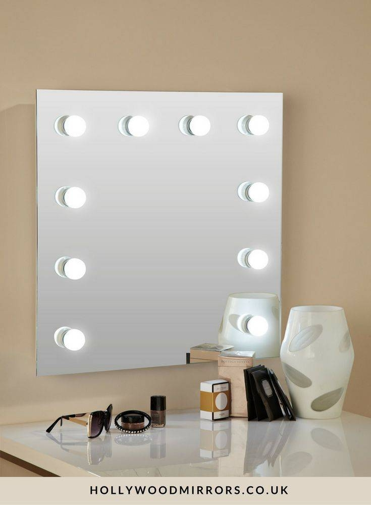 15 collection of light up wall mirrors best 25 mirror with light bulbs ideas on pinterest hollywood within light up wall aloadofball Gallery