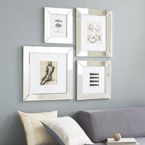 Best 25+ Mirrored Picture Frames Ideas On Pinterest | Chalkboard Inside Frames For Wall Mirrors (#6 of 15)