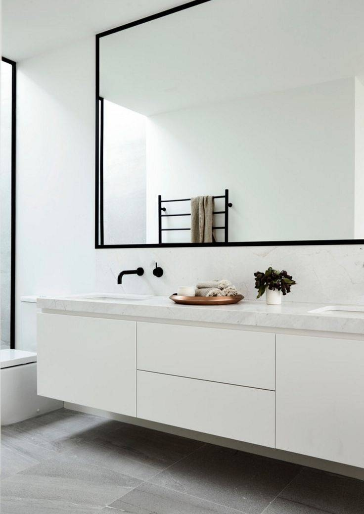 Best 25+ Modern Bathroom Mirrors Ideas On Pinterest | Asian Pertaining To Modern Mirrors For Bathrooms (View 8 of 15)